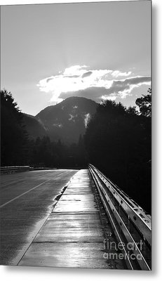 Route 2 West Metal Print