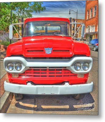 Route 66 Flatbed Ford Metal Print by John Kelly