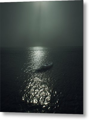 Row Boat Metal Print by James Ingham