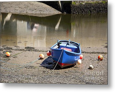 Rowing Boat Metal Print by Jane Rix