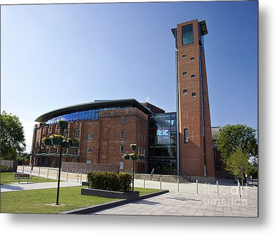 Royal Shakespeare Theatre Metal Print by Jane Rix