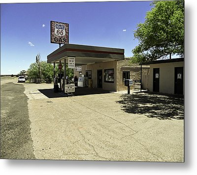 Metal Print featuring the photograph Rtt 66 by Paul Plaine