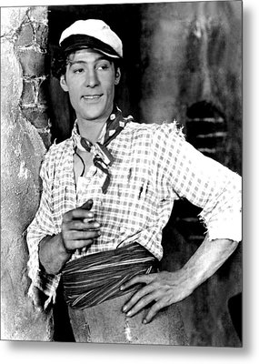 Rudolph Valentino In Blood And Sand Metal Print by Everett