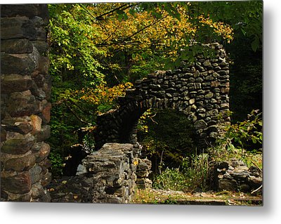 Ruins Metal Print by Tanya Chesnell