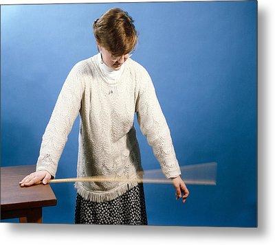 Ruler Vibrating Metal Print by Andrew Lambert Photography