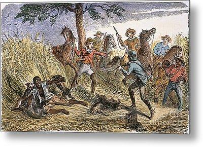 Runaway Slave Metal Print by Granger