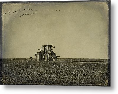 Rural Texas Morning Metal Print