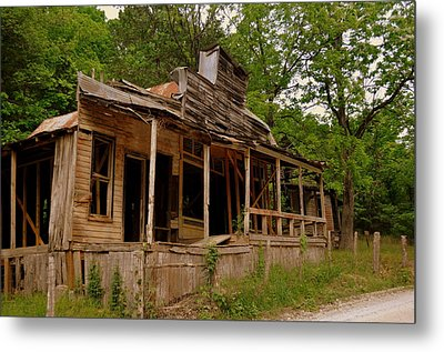 Rush General Store Metal Print by Marty Koch