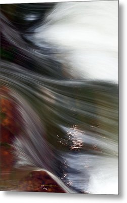 Rushing Water II Metal Print