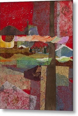 Russian Village Metal Print