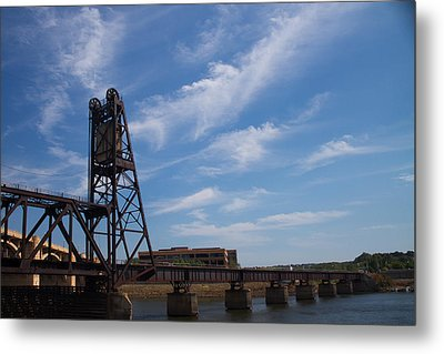 Metal Print featuring the photograph Rusted Bridge by Stephanie Nuttall