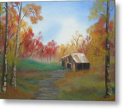 Rustic Metal Print by Amity Traylor