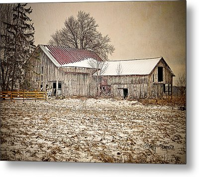 Metal Print featuring the photograph Rustic Barn by Mary Timman