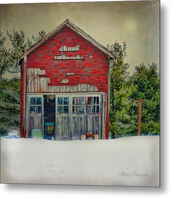 Metal Print featuring the photograph Rustic Shed by Mary Timman