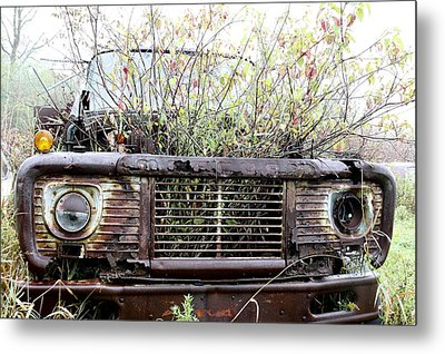 Metal Print featuring the photograph Rusty And Crusty by Nick Mares