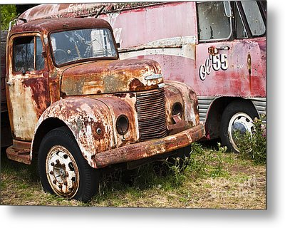 Rusty Commer  Metal Print by David Lade