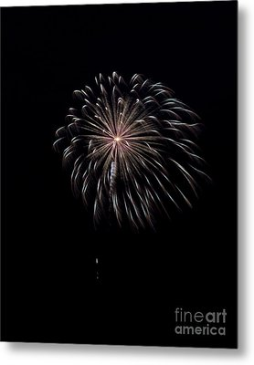 Metal Print featuring the photograph Rvr Fireworks 10 by Mark Dodd