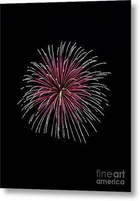 Metal Print featuring the photograph Rvr Fireworks 8 by Mark Dodd