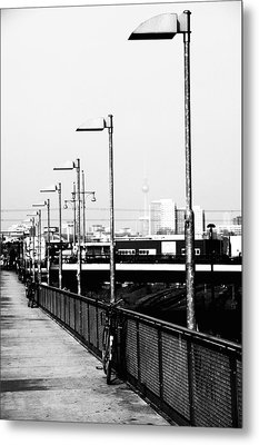 S-bahn To Berlin Metal Print by Falko Follert