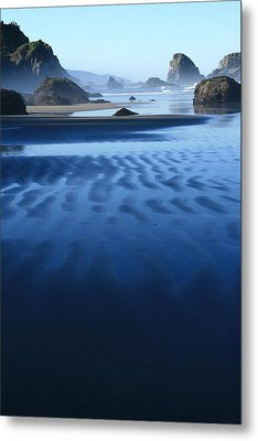 S Ecola Oregon Metal Print