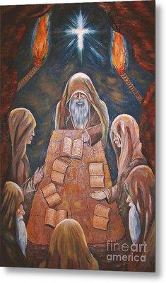 Sacred Tradition Metal Print by Judy Via-Wolff