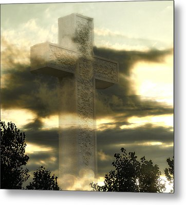 Sacrifice Metal Print by Raymond Earley