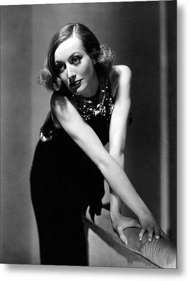 Sadie Mckee, Joan Crawford, 1934 Metal Print by Everett