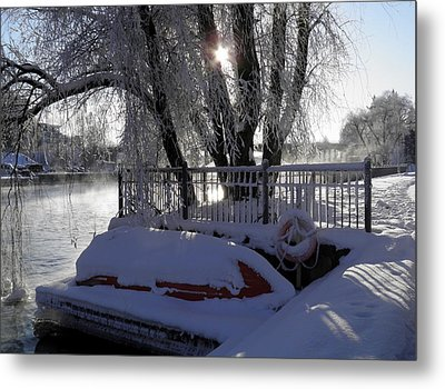 Safe Winter Metal Print