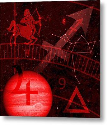 Sagittarius Metal Print by JP Rhea