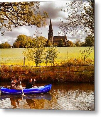 Sail Away Metal Print by Isabella F Abbie Shores FRSA
