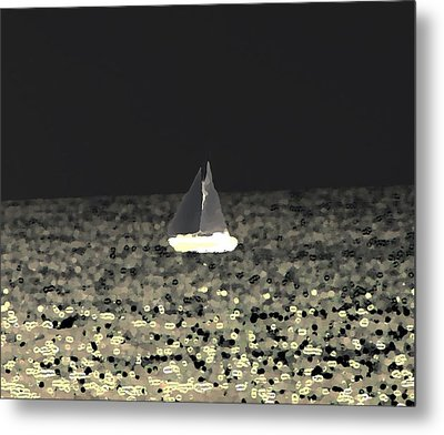 Sail Away Metal Print by Elizabeth  Doran