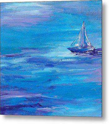 Sail Away Metal Print by Sandy Tracey