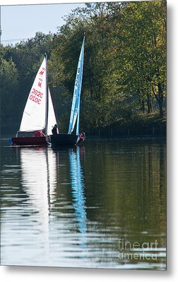Sailing Boats Metal Print by Andrew  Michael