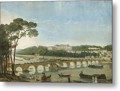 Saint-cloud During The Visit Of King Francois I, France, 1830 Metal Print by Photos.com