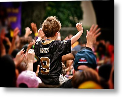 Saints Boy Metal Print