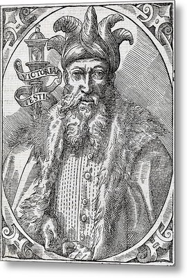 Saladin, Sultan Of Egypt And Syria Metal Print by Middle Temple Library