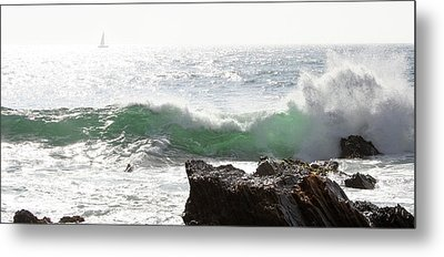 Metal Print featuring the photograph Saling 1 by Michael Rock