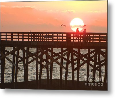 Metal Print featuring the photograph Salt Air by Everette McMahan jr
