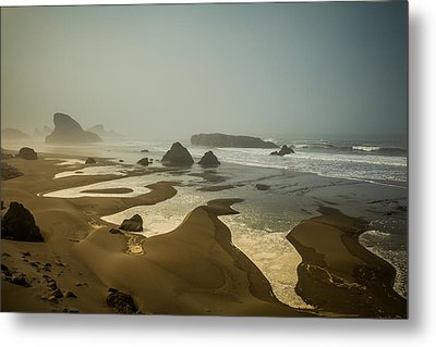 Metal Print featuring the photograph Salty Fingers by Randy Wood