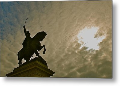 Metal Print featuring the photograph Salute To The Sun by Eric Tressler