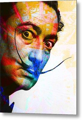 Salvador Dali Metal Print by Andrew Osta