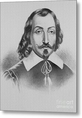 Samuel De Champlain Metal Print by Photo Researchers