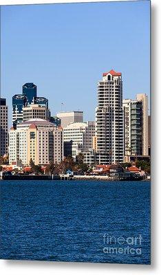 San Diego Buildings Photo Metal Print by Paul Velgos