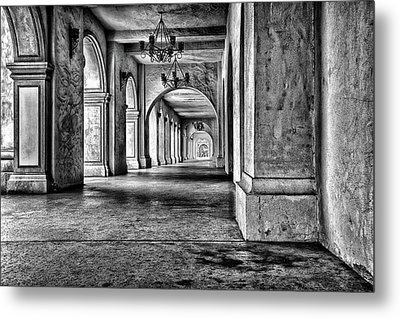San Diego's Balboa Park Metal Print by Larry Marshall