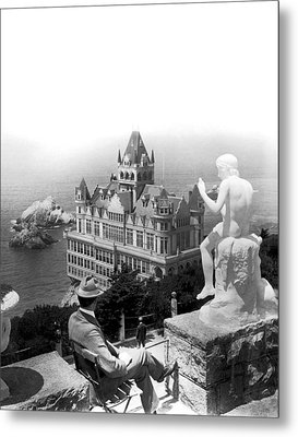 San Francisco Cliff House Metal Print