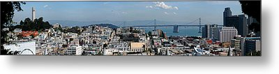 San Francisco Metal Print by Luis Esteves