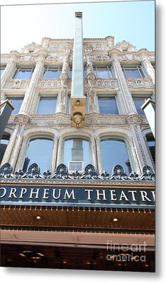 San Francisco Orpheum Theatre - 5d17987 Metal Print by Wingsdomain Art and Photography