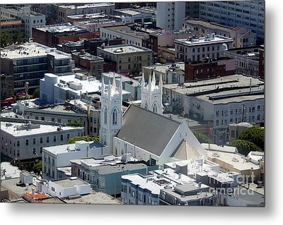 San Francisco St Francis Of Assisi Church Metal Print