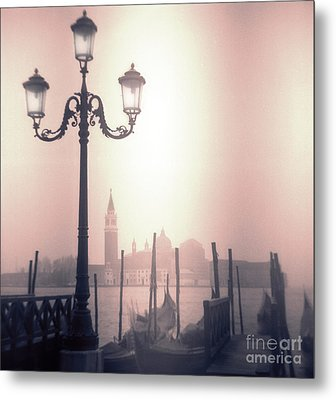 San Giorgio Maggiore Seen From Venice  Metal Print by Janeen Wassink Searles