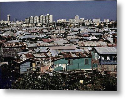 San Juan Puerto Rico. Modern Buildings Metal Print by Everett